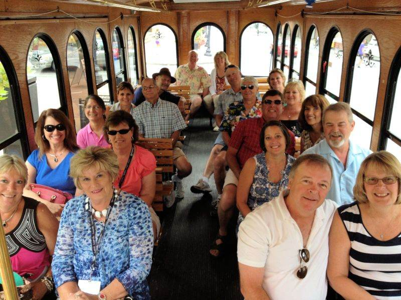 Our trolley tours are entertaining and informative!