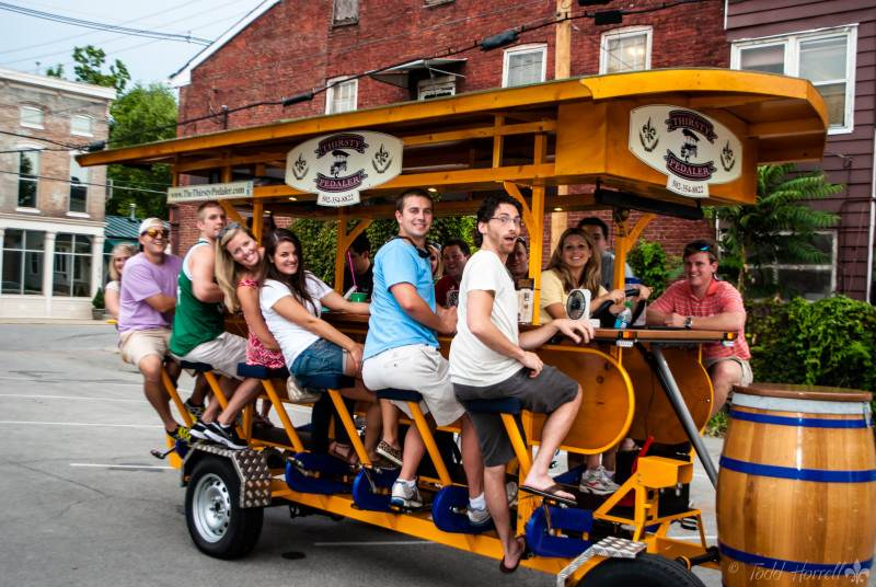 Thirsty Pedaler, The
