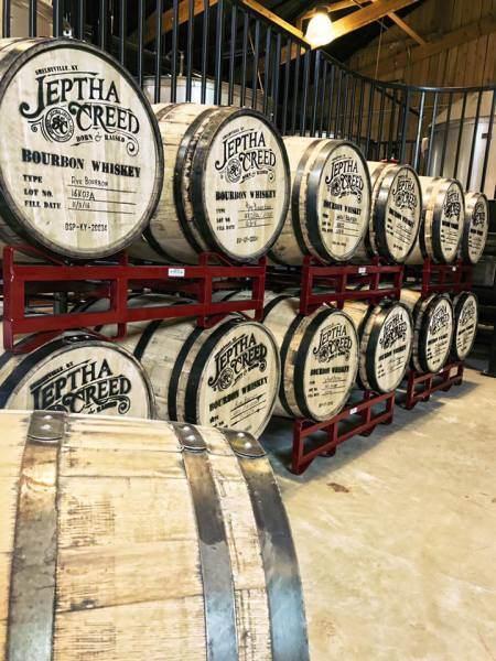 Jeptha Creed Distillery