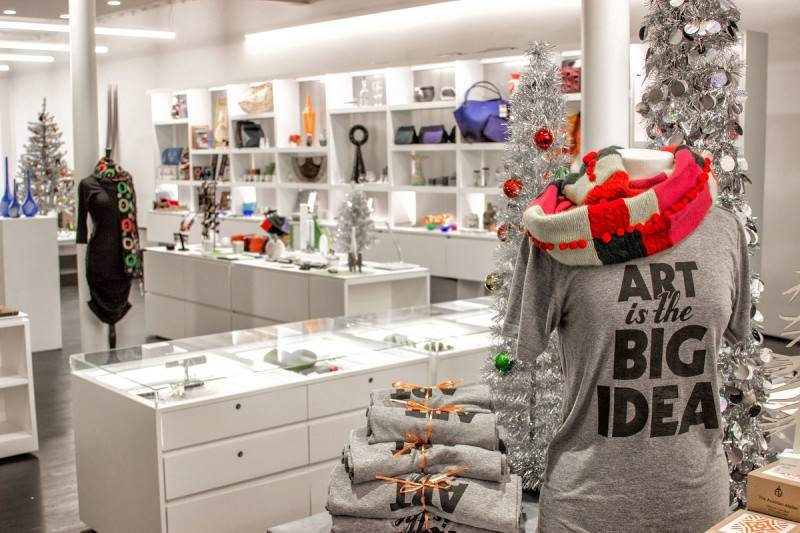 Our artfully curated museum shop offers a variety of gifts from local and national makers.
