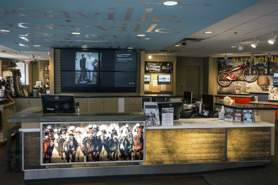 Louisville's Visitor Information Center Reopens