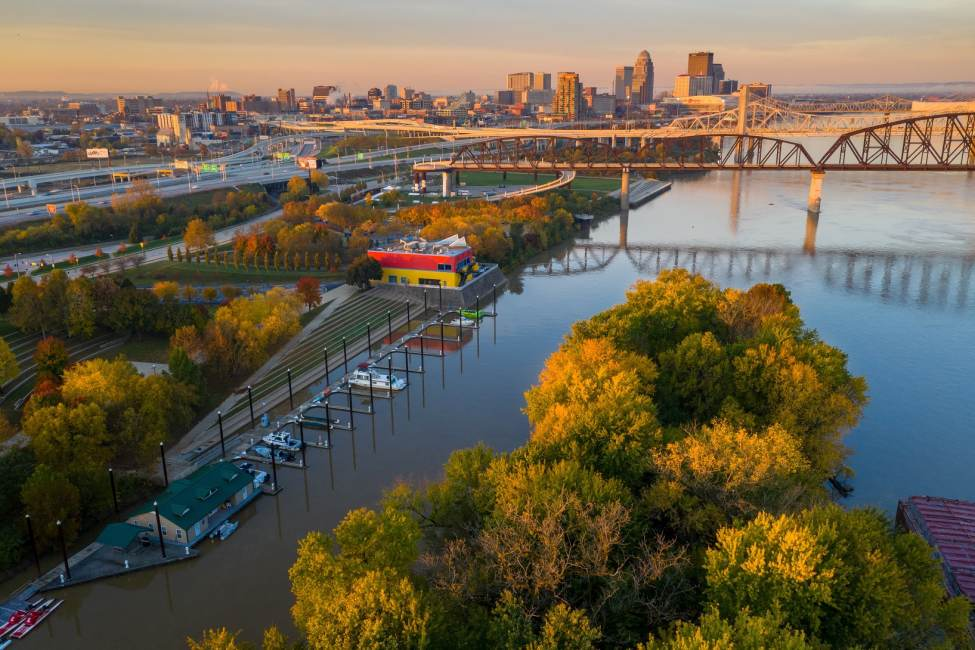 Louisville Stands Out on Lonely Planet's Top 8 for Fall Colors