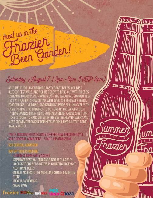 Cracking Open a Summer Beer Fest at Frazier History Museum