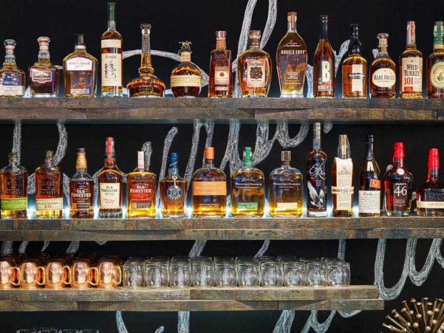 Kentucky Bourbon Sold at Louisville Airport