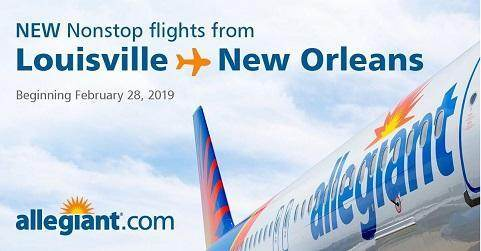 Allegiant Connects Bourbon City to Bourbon Street