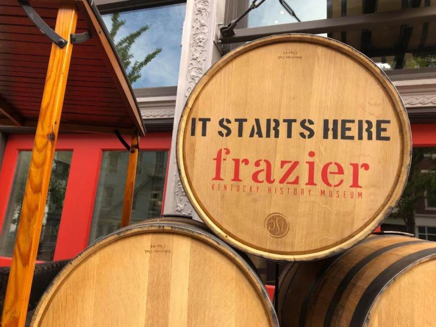 Kentucky Bourbon Trail ® Now Begins at Louisville's Frazier History Museum