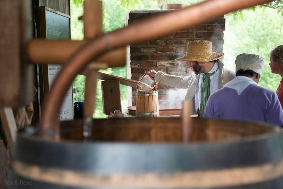 19th Century Whiskey Demos at Locust Grove