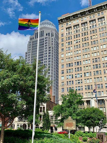 Louisville Flying High During Colorful Pride Week