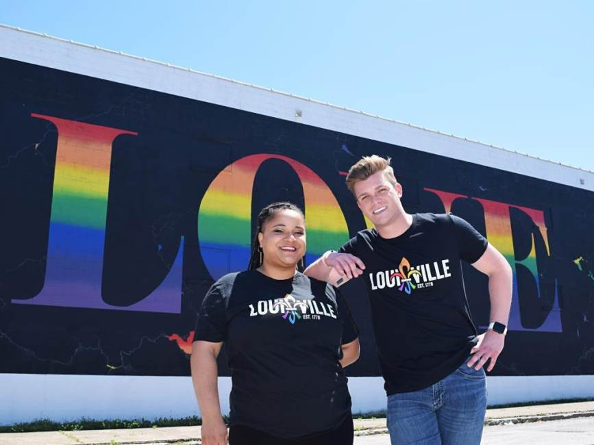 Louisville CVB Debuts Logo for Pride Month
