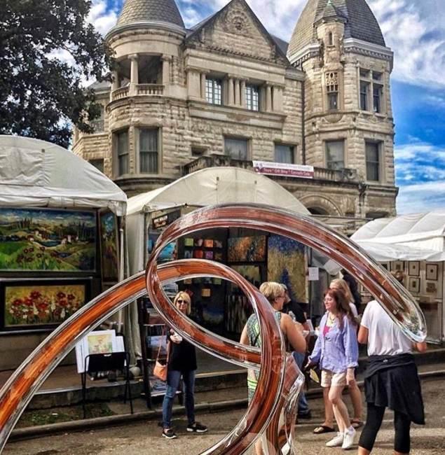 St. James Court Art Show Named Best Fine Art & Design Show in America